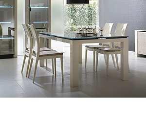 table1 Diamond Ivory Dining Table