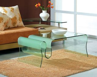 Ultra Modern Glass Coffee Table Ultra Modern Glass Coffee Table
