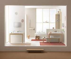bathroom French Flexible Bathroom