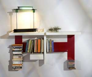 bookcase TEEBooks Storing Wall Bookcase