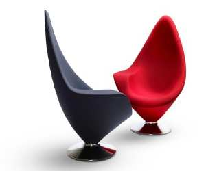 chair1 Modern Swivel Sitting Chair