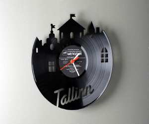 clock Vinyl Original Wall Clock