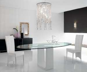 contemporary oval dining table1 Contemporary Oval Dining Table