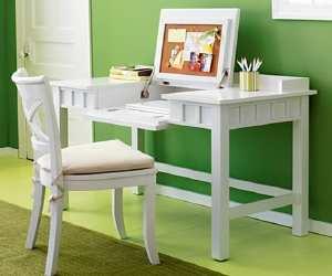desk Brighton White Desk