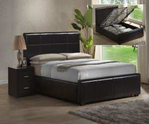 elegant modern leather designer bed Elegant Modern Leather Designer Bed