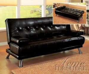 leather adjustible sofabed Leather Adjustable Sofa Bed