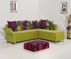 modern looking microfiber sectional sofa Modern Looking Microfiber Sectional Sofa