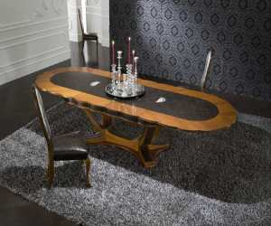 platinum oval extendable dining table Platinum Oval Expendable Dining Table