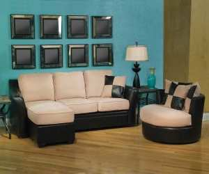 sofa8 Comfortable Leather Sectional