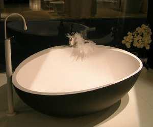 tub Comfortable Black Tub