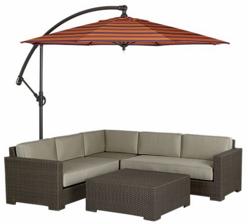 Awesome Ventura Free Standing Patio Umbrella