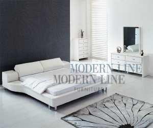 unique white eco leather modern sofa bed Unique White Eco Leather Modern Sofa Bed