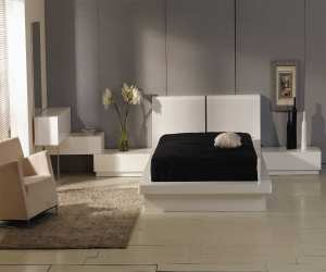 white high gloss bed with lighted curved headboard White High Gloss Bed with Lighted Curved Headboard