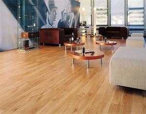 Heat-insulated floor