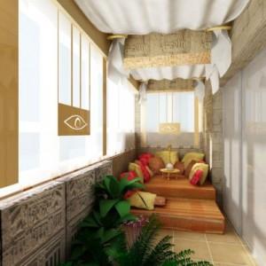 Дизайн маленького балкона в хрущевке. современные идеи оформ.