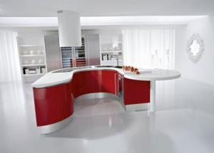 23 300x215 Windows Decoration in the Kitchen Interior