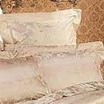 Bedroom Interior: Silk bedclothes