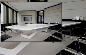 "One Gigantic Talking Table Kinzo 300x2111 One Gigantic Talking Table: ""The Space"" Table from KINZO"