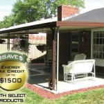 Patio awning and tax credit
