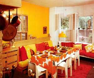 retro classic style applied in dining room Retro Classic Style Dining Room