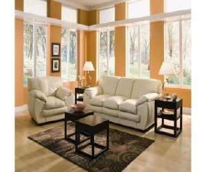 valenza ivory leather sofa Valenza Ivory Leather Sofa