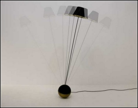 Floating Lamp Roly-Poly Light. A New Tool For Hypnosis And Meditation