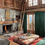 Chalets Style In Alpine Style Interior