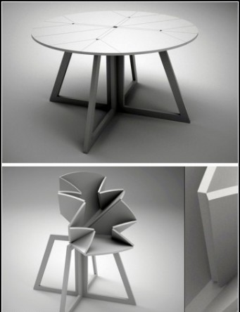120 Sigrid Stromgren And Sanna Lindstrom Introduce A Flower: Folding Table