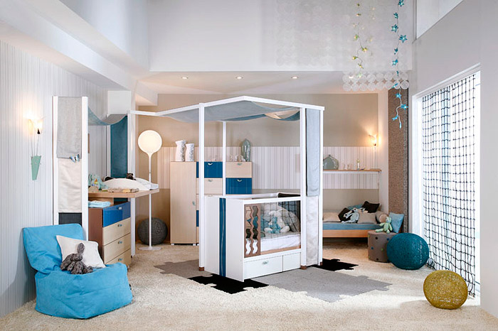 2 Vibel Created  Elegant Bedroom For A Baby