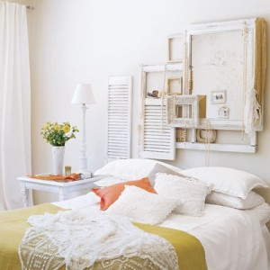 White Bedroom In Elegant Color Combinations