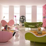 Pink as a Modern Color for Interior Decoration