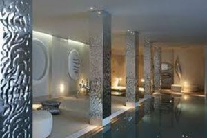 Modern Stretch Ceilings in the Pool
