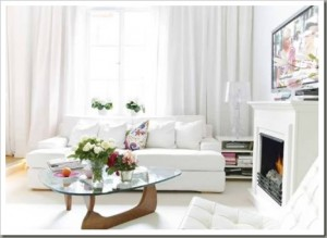 White Color In Interior Design