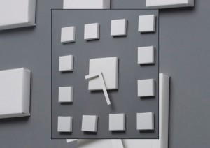 Create Your Own Clock of Squares