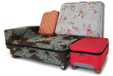 Travel Sofa Known As Suited Case