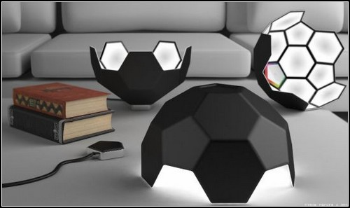 612 Designer Simon Enever Comes Up With Football lamp