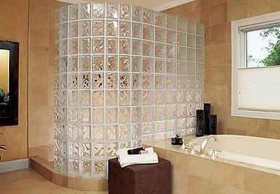 628 Walls Of Glass: Glass Bricks In The Interior