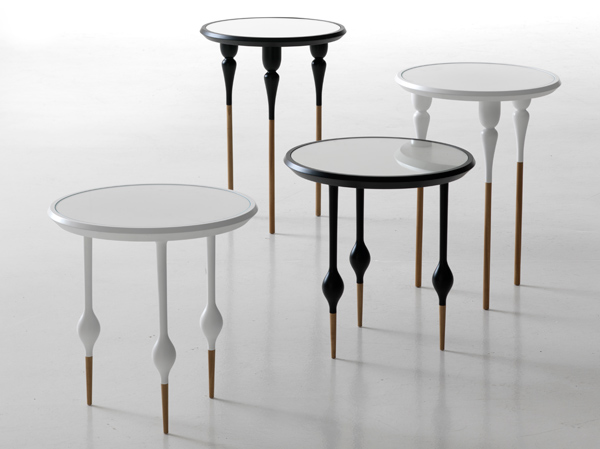 Philippe I Collection reflects 18th century elegancy of Tables