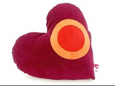 730 Heart Shaped Pillow for Interior Decoration