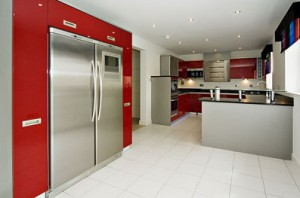Kitchens in High-Tech Style
