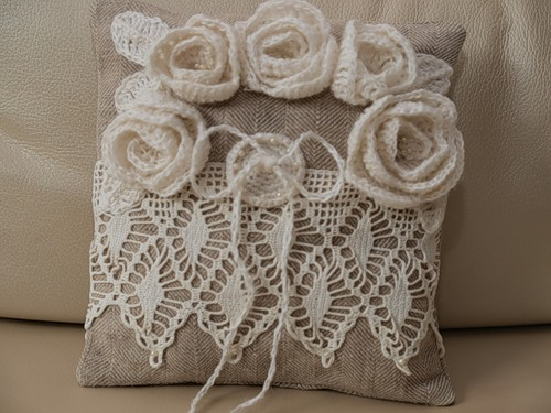 Crochet items for decorating accessories - Crochet mural vintage ...