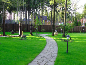 1 1 Decoration of Driveways and Platforms in the Garden