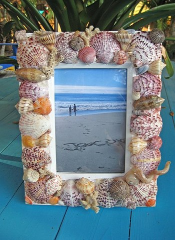 1 Decor With Seashells
