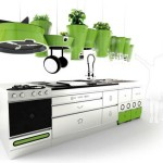 Futuristic Kitchen Design from Faltazi