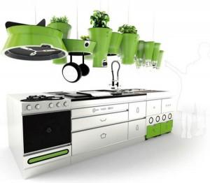 Futuristic Kitchen Design from Faltazi