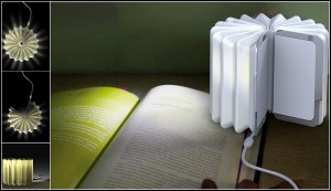 Interesting Book-Lamp from Zheyan Hong
