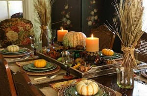 Decorate the Table for Halloween