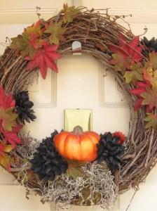 54 Autumn Décor: Tricks To Make Autumn Wreaths