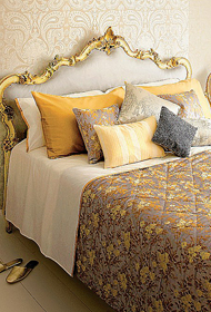 Lace and Gold in Interior Design