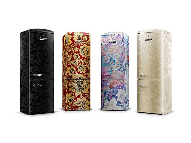 Series of Refrigerator Rosenlew By Denis Simachev